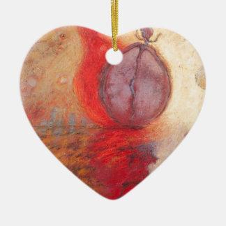 Ornamento De Cerâmica Pintura a óleo do abstrato da dança do fogo