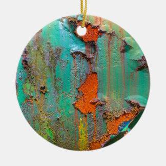 Ornamento De Cerâmica Pintura da casca