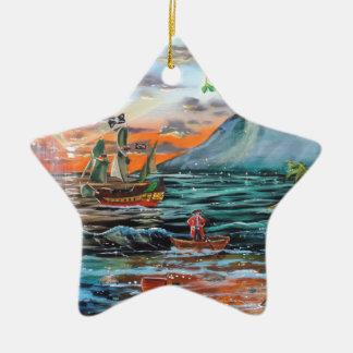 Ornamento De Cerâmica Pintura de Bell do funileiro da angra do gancho de