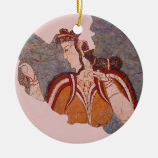 Ornamento De Cerâmica Pintura de parede de Minoan