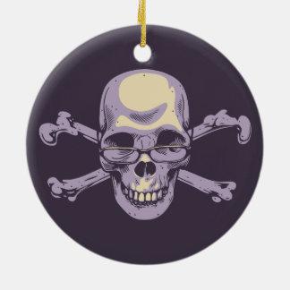 Ornamento De Cerâmica Pirata Nerdy