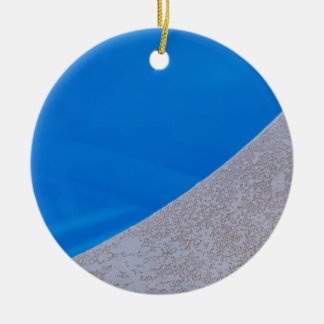 Ornamento De Cerâmica Piscina