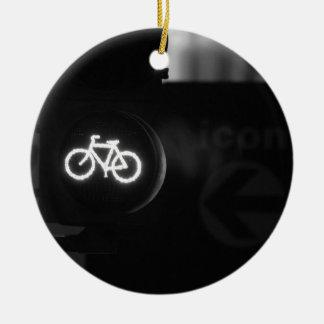Ornamento De Cerâmica Pista da bicicleta