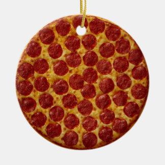 Ornamento De Cerâmica Pizza