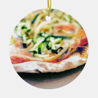 Ornamento De Cerâmica Pizza-12