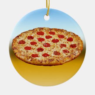 Ornamento De Cerâmica Pizza solitária - multi produtos