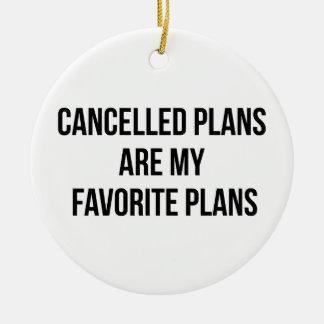 Ornamento De Cerâmica Planos cancelados