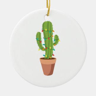 Ornamento De Cerâmica Planta do cacto do Saguaro