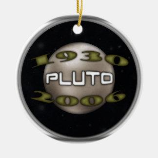 Ornamento De Cerâmica Pluto 1930-2006 comemorativo