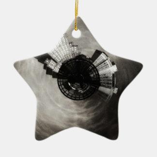 Ornamento De Cerâmica Poder minúsculo e luz do planeta que constroem