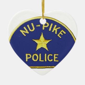 Ornamento De Cerâmica Polícia de NU-Pike