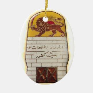 Ornamento De Cerâmica Polícia secreta persa SAVAK