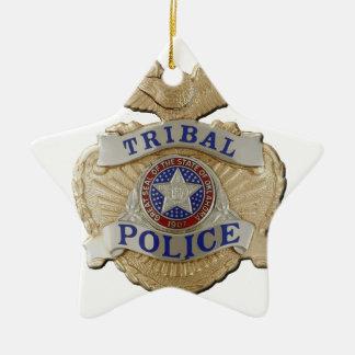 Ornamento De Cerâmica Polícia tribal de Oklahoma
