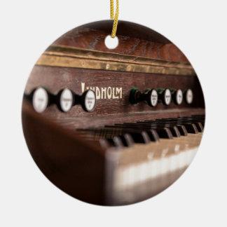 Ornamento De Cerâmica Polônia antigo velho da música do instrumento do