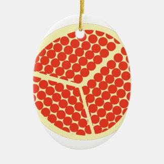 Ornamento De Cerâmica pomegrante no interior