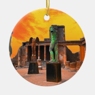 Ornamento De Cerâmica Pompeia Italia