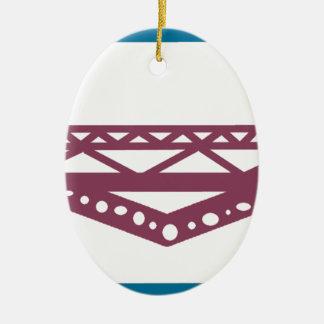 Ornamento De Cerâmica Ponte