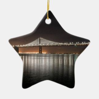 Ornamento De Cerâmica Ponte da baía