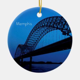 Ornamento De Cerâmica Ponte de Memphis