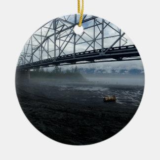 Ornamento De Cerâmica Ponte do rio de Knik