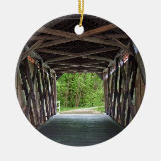 Ornamento De Cerâmica Ponte interna Hillsboro Missouri da angra de Sandy