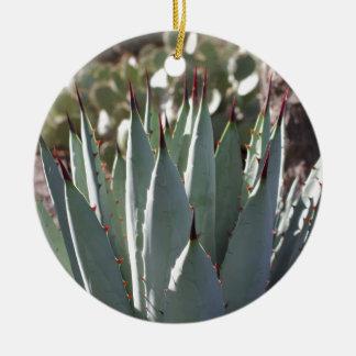 Ornamento De Cerâmica Pontos da agave