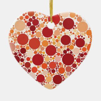Ornamento De Cerâmica pontos da pizza