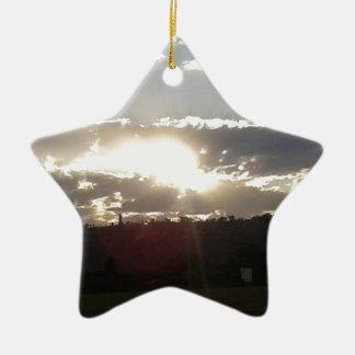 Ornamento De Cerâmica Por do sol de Imperani