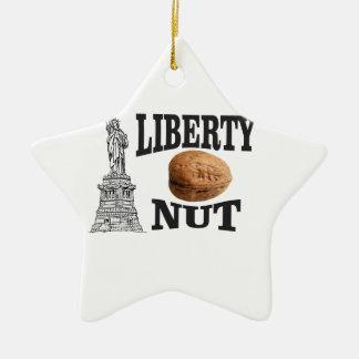 Ornamento De Cerâmica porca da liberdade