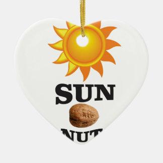Ornamento De Cerâmica porca do sol yeah