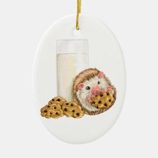 Ornamento De Cerâmica Porco do biscoito