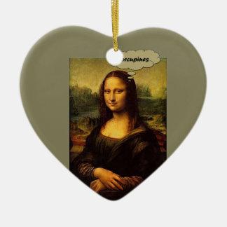 Ornamento De Cerâmica Porcos- de Mona Lisa