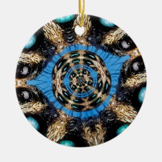 Ornamento De Cerâmica Portal psicadélico da aranha