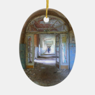 Ornamento De Cerâmica Portas e corredores 03,0, lugares perdidos,