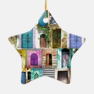 Ornamento De Cerâmica Portas e Windows de todo o mundo
