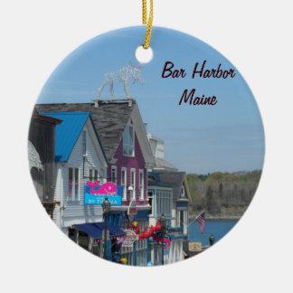 Ornamento De Cerâmica Porto do bar, Maine