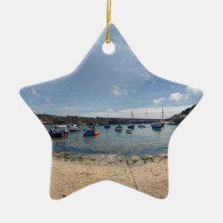Ornamento De Cerâmica porto do marazion