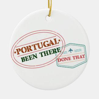 Ornamento De Cerâmica Portugal feito lá isso