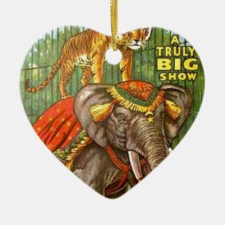 Ornamento De Cerâmica Poster do circo