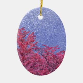 Ornamento De Cerâmica Poster do tema da paisagem da fantasia