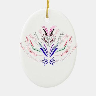Ornamento De Cerâmica Povos do branco dos elementos do design