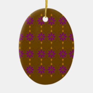 Ornamento De Cerâmica Povos marrons dos elementos do design