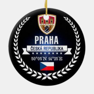 Ornamento De Cerâmica Praha