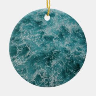 Ornamento De Cerâmica Praia