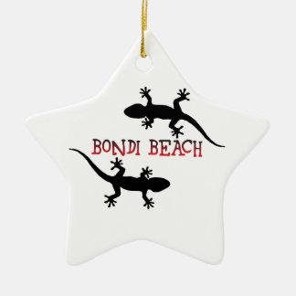 Ornamento De Cerâmica Praia Austrália de Bondi