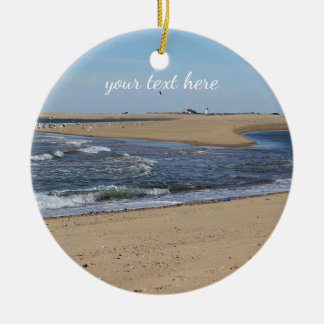 Ornamento De Cerâmica Praia de Provincetown em Cape Cod