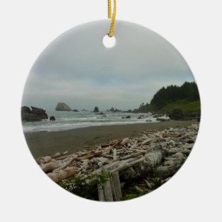 Ornamento De Cerâmica Praia escondida mim no parque nacional da sequóia