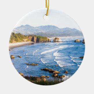 Ornamento De Cerâmica Praia Oregon do canhão
