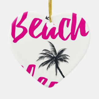 Ornamento De Cerâmica praia por favor