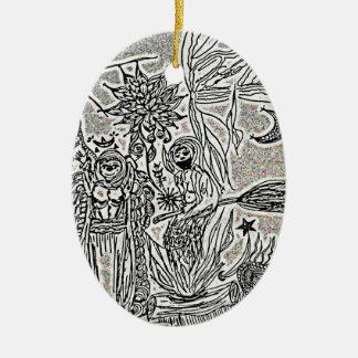 Ornamento De Cerâmica praiseandburn